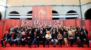 El cine español celebra el 25º aniversario de los Premios Goya 6