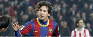 Messi destrozó al Atlético de Madrid 5