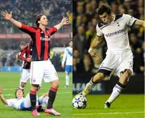 El Milán se enfrenta al Tottenham inglés en los octavos de final de la Champions League
