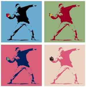 Warhol y Banksy sucumben a Angry Birds 6