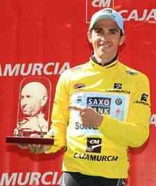 Alberto Contador brilla en la Vuelta a Murcia 3