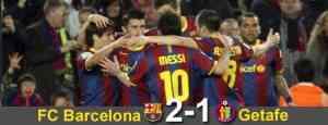 El Barcelona cumple ante el Getafe 3