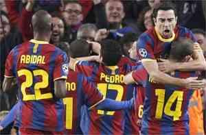 El Barcelona pasa a cuartos de final 3