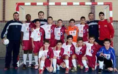 Josele y la Selección Alevín de Castilla La Mancha