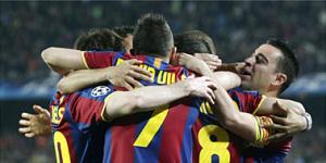 El Barcelona golea al Shaktar y tiene un pie en semifinales 3