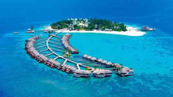 Hoteles de lujo en las islas maldivas for Hoteles super lujo maldivas