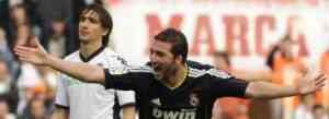 El Madrid goleó a un gris Valencia