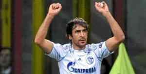 El Schalke 04 y Raúl destrozaron al Inter de Milan