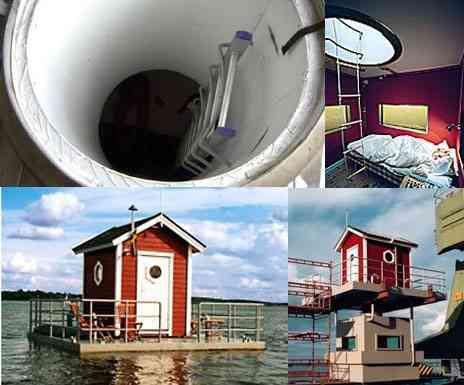 Un hotel para dos debajo del agua 3