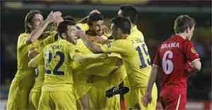 El Villareal golea 5-1 al Twente 3