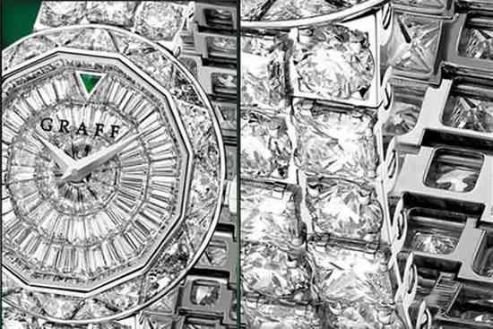 Relojes completamente de diamantes 3