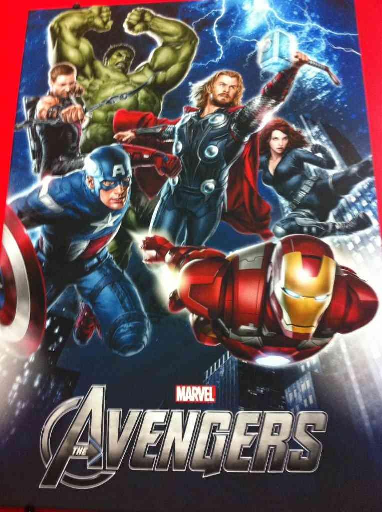 'Los Vengadores', primer póster promocional 3