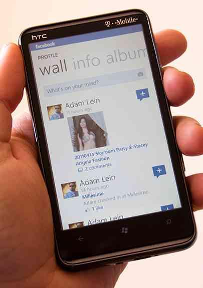 Aplicación de Facebook para Windows Phone actualizada