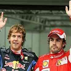 Vettel primero, Alonso cuarto 3