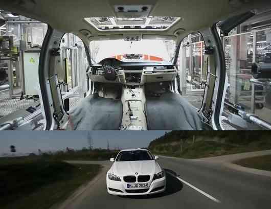 El proceso de construcción de un BMW Serie 3, en vídeo 3