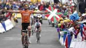 Samuel Sánchez gana su primera etapa en el Tour
