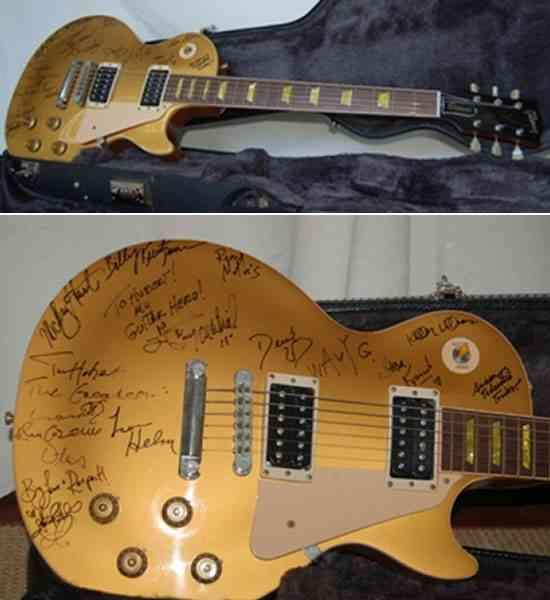 ¡He aquí una guitarra que no podrán ver todos los días! 3