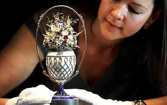 Un huevo Fabergé que data de 1887 reencontrado 3