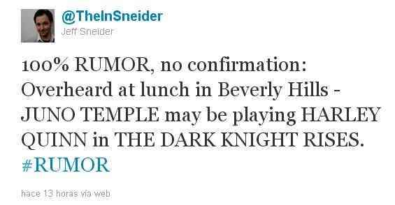 ¿La compañera del Joker aparecerá en 'The Dark Knight Rises'? 6