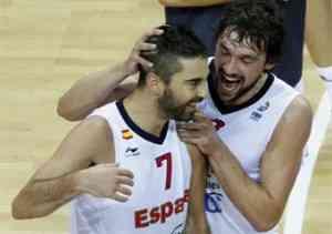 España gana a Macedonía y se mete en la final