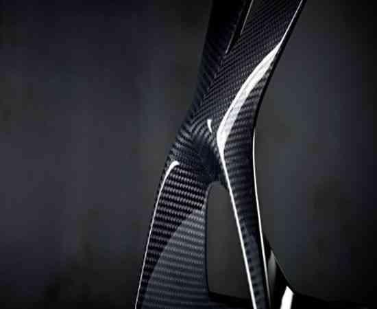 Lámpara de mesa de fibra de carbono OLED, una obra maestra moderna 6