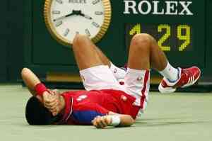 Djokovic le pasa factura su gran temporada