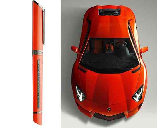 Edición limitada de plumas OMAS inspirada en Lamborghini 5