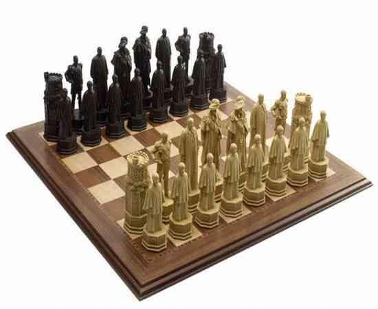 Lujoso juego de ajedrez del Jubileo celebra la herencia británica real 3