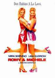 Portada película romy y michele