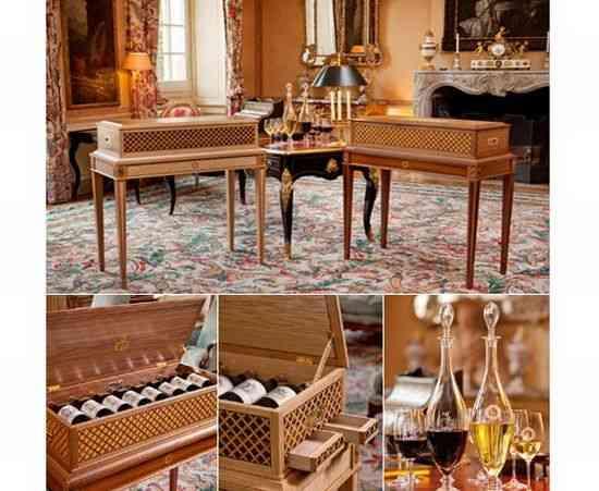 Edición Limitada de mueble para vino, Château Haut-Brion diseñado por el Príncipe Roberto de Luxemburgo, a subasta 3