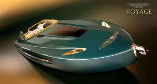 Yate Aston Martin Voyage 55, concepto 007 7
