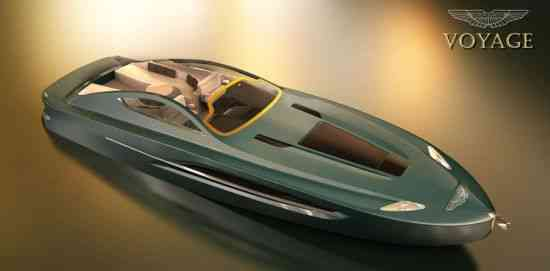 Yate Aston Martin Voyage 55, concepto 007 9