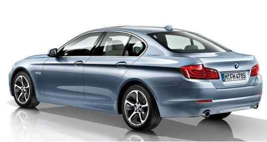 El nuevo ActiveHybrid 5, la versión hibrida del BMW serie 5 3