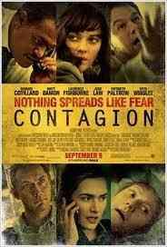 Cartel película Contagion