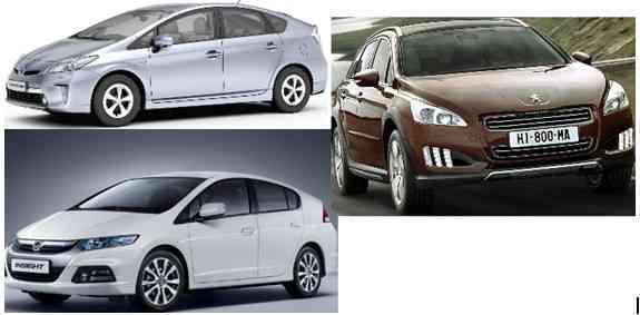 Los coches híbridos más cómodos y eficientes 3