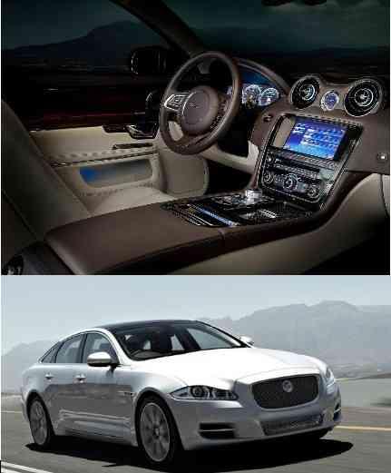 Aún más lujoso, el jaguar XJ 3