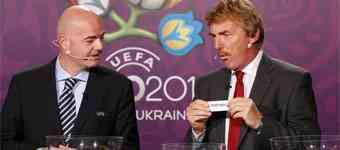 sorteo repesca eurocopa