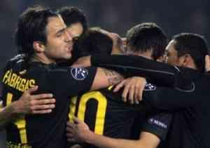 Messi, Cesc y Cuenca ponen al Barcelona en octavos 3