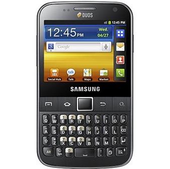 Galaxy Y Duos y Galaxy Y Pro Duos, los nuevos terminales de Samsung 5