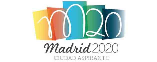 Madrid 2020 presenta logo con polémica 6