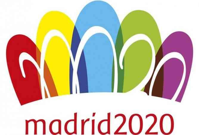 Madrid 2020 presenta logo con polémica 5