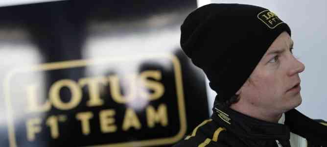 Kimi Raikkonen habla de las posibilidades de Lotus F1 3