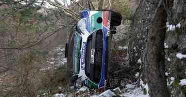 Loeb es líder en el Rallye de Montecarlo 2012 3