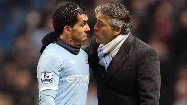 Tevez reaparecerá con el reserva del Manchester City 3