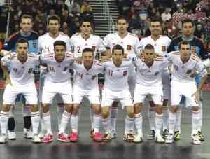 Sexto europeo para nuestra Selección de fútbol sala 6