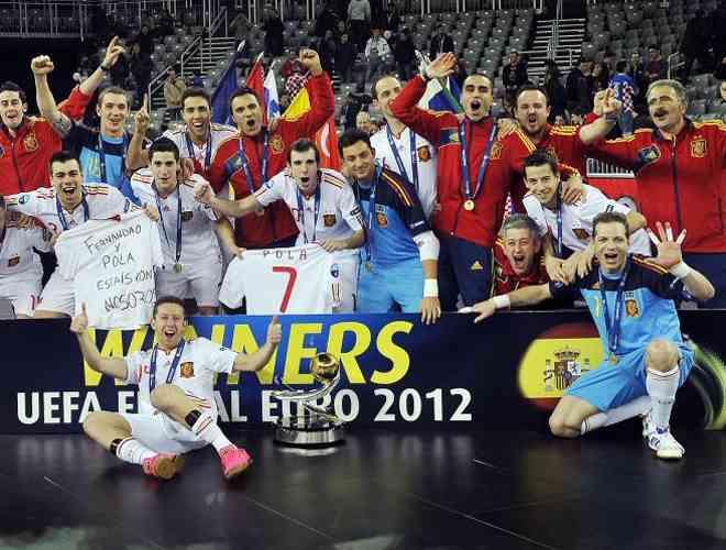 Sexto europeo para nuestra Selección de fútbol sala 5