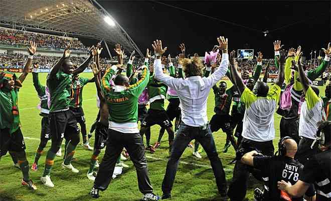 Zambia nuevo y primerizo rey de África 6