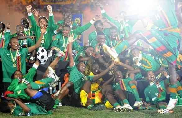Zambia nuevo y primerizo rey de África 5
