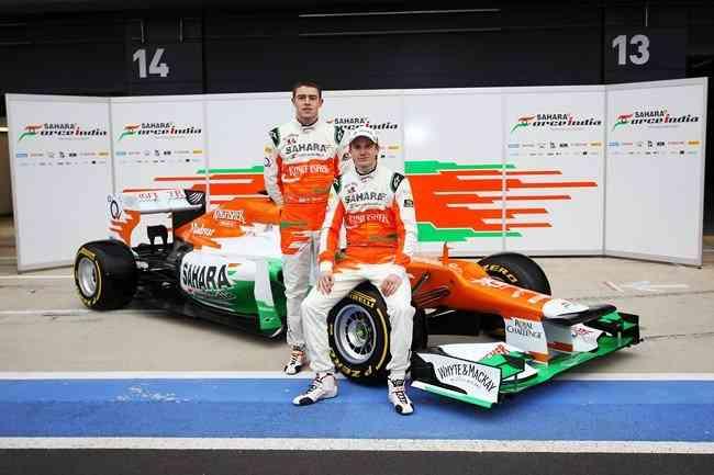 Ferrari y Force India muestran sus armas para 2012 6