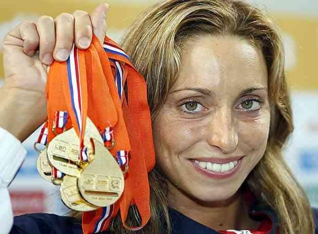 Gemma Mengual deja la natación sincronizada 5